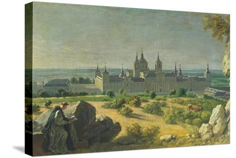 The Monastery of El Escorial-Miguel Angel Houasse-Stretched Canvas Print