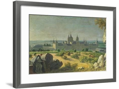 The Monastery of El Escorial-Miguel Angel Houasse-Framed Art Print