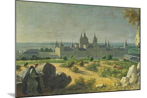 The Monastery of El Escorial-Miguel Angel Houasse-Mounted Giclee Print