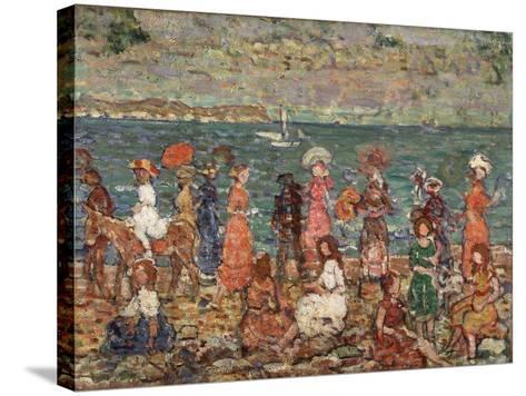 Seashore, C.1913-Maurice Brazil Prendergast-Stretched Canvas Print