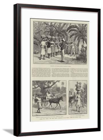 Across Two Oceans, the West Indies-Melton Prior-Framed Art Print