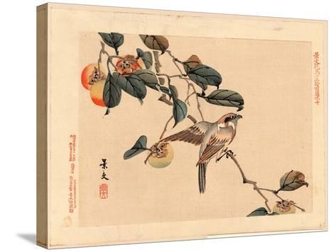 Zenpen No Ju-Matsumura Keibun-Stretched Canvas Print
