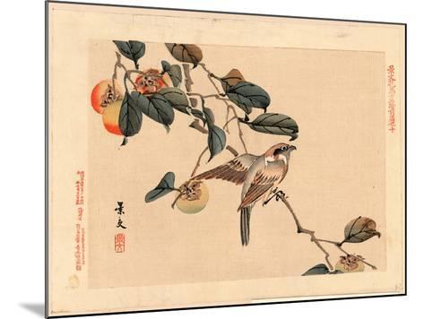 Zenpen No Ju-Matsumura Keibun-Mounted Giclee Print