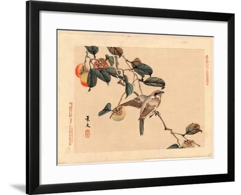 Zenpen No Ju-Matsumura Keibun-Framed Art Print