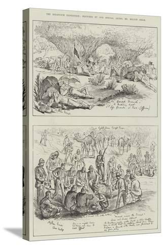 The Khartoum Expedition-Melton Prior-Stretched Canvas Print