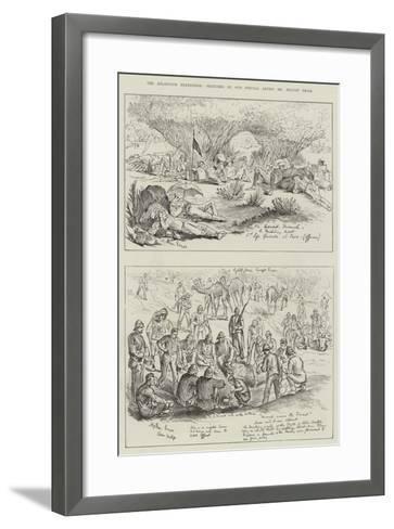 The Khartoum Expedition-Melton Prior-Framed Art Print
