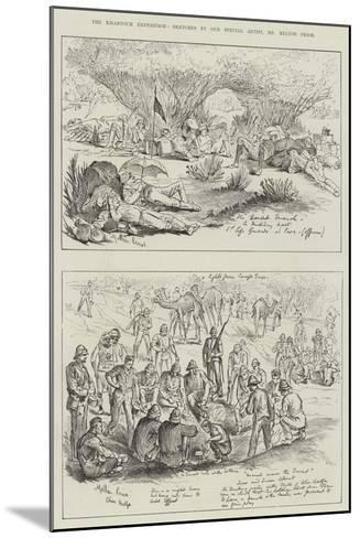 The Khartoum Expedition-Melton Prior-Mounted Giclee Print