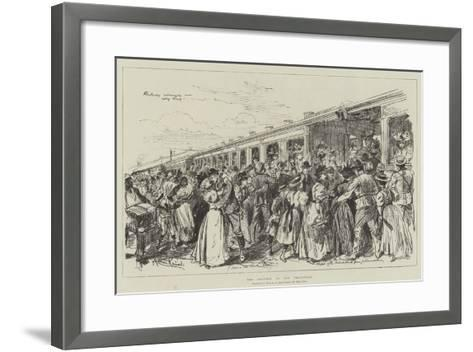 The Trouble in the Transvaal-Melton Prior-Framed Art Print