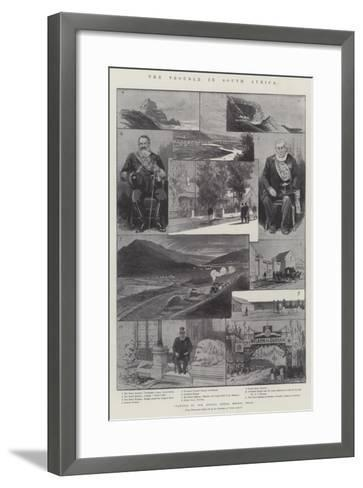 The Trouble in South Africa-Melton Prior-Framed Art Print