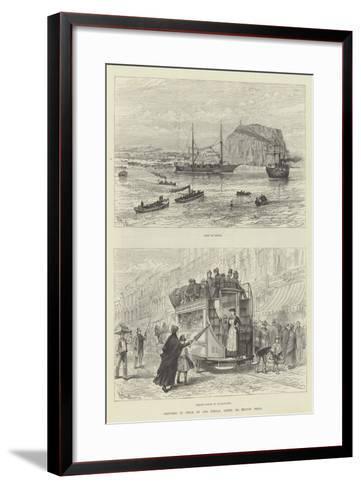Sketches in Chile-Melton Prior-Framed Art Print