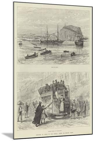 Sketches in Chile-Melton Prior-Mounted Giclee Print