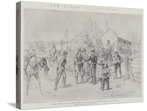 The March to Pretoria-Melton Prior-Stretched Canvas Print