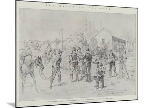 The March to Pretoria-Melton Prior-Mounted Giclee Print