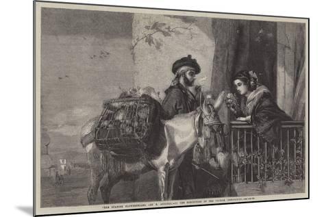"""The Spanish Flowerseller-Matthew """"matt"""" Somerville Morgan-Mounted Giclee Print"""