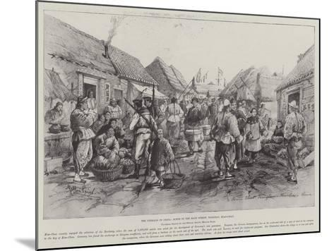 The Germans in China, Scene in the Main Street, Tsingtau, Kiao-Chau-Melton Prior-Mounted Giclee Print