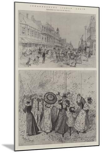 Johannesburg Itself Again-Melton Prior-Mounted Giclee Print