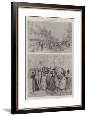 Johannesburg Itself Again-Melton Prior-Framed Art Print
