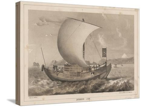 Japanese Junk, 1855- Meffert-Stretched Canvas Print