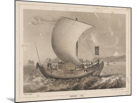 Japanese Junk, 1855- Meffert-Mounted Giclee Print