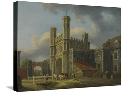 St. Augustine's Gate, C.1778-Michael Rooker-Stretched Canvas Print