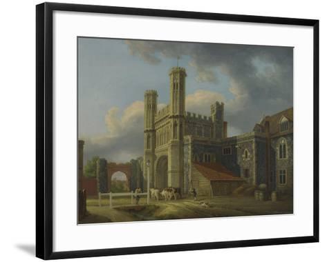 St. Augustine's Gate, C.1778-Michael Rooker-Framed Art Print