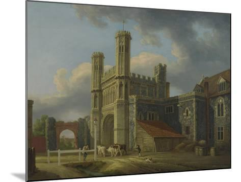 St. Augustine's Gate, C.1778-Michael Rooker-Mounted Giclee Print