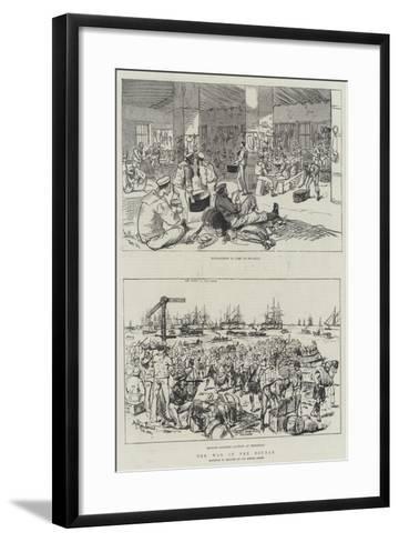 The War in the Soudan-Melton Prior-Framed Art Print