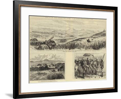Death of the Prince Imperial-Melton Prior-Framed Art Print