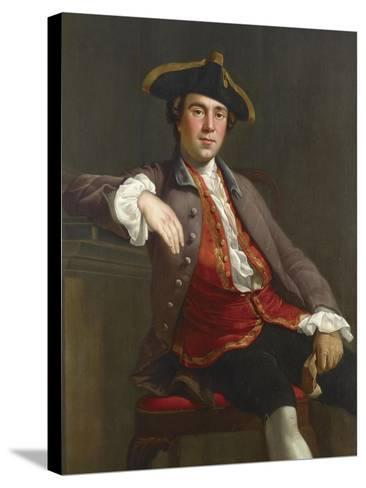 Portrait of a Gentleman-Nathaniel Dance-Holland-Stretched Canvas Print