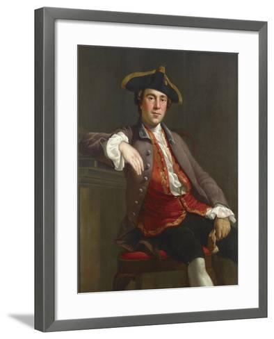 Portrait of a Gentleman-Nathaniel Dance-Holland-Framed Art Print
