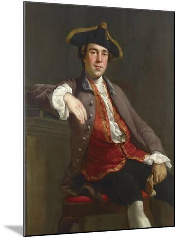 Portrait of a Gentleman-Nathaniel Dance-Holland-Mounted Giclee Print