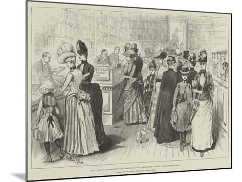 The Mudie'S of Melbourne, Mr Samuel Mullen's Circulating Library, Collins-Street East-Melton Prior-Mounted Giclee Print