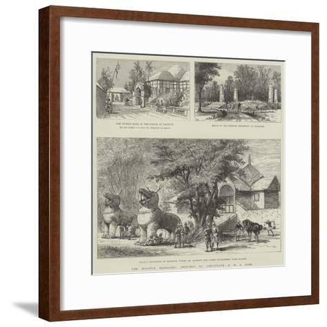 The Manipur Massacres-Melton Prior-Framed Art Print
