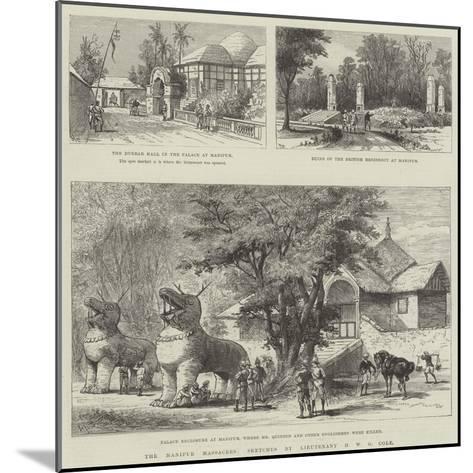 The Manipur Massacres-Melton Prior-Mounted Giclee Print