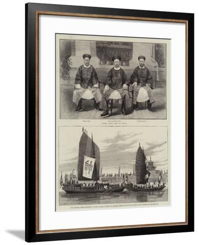 Sketches in China-Melton Prior-Framed Art Print