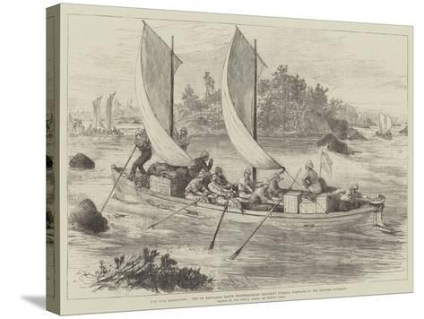 The Nile Expedition-Melton Prior-Stretched Canvas Print