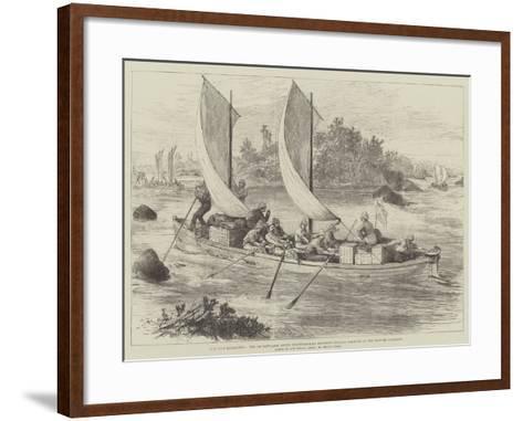 The Nile Expedition-Melton Prior-Framed Art Print