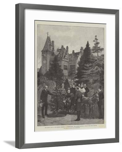 The Queen's Visit to the Empress Frederick at Friedrichshof-Melton Prior-Framed Art Print
