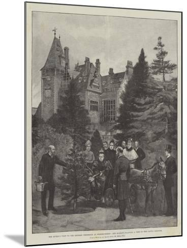 The Queen's Visit to the Empress Frederick at Friedrichshof-Melton Prior-Mounted Giclee Print