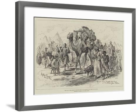 The War in the Soudan, Refugees from Tokar Brought into Camp at Trinkitat-Melton Prior-Framed Art Print