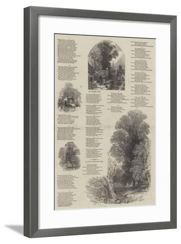 May Lyrics-Myles Birket Foster-Framed Art Print