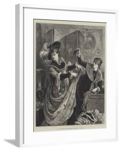 Young Faces and Old Fashions-Matthew White Ridley-Framed Art Print