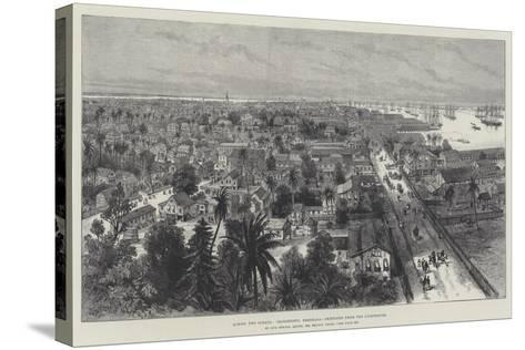 Across Two Oceans, Georgetown, Demerara, Sketched from the Lighthouse-Melton Prior-Stretched Canvas Print