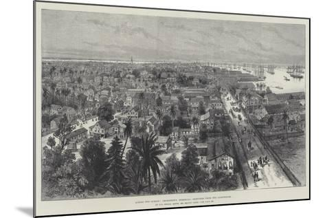Across Two Oceans, Georgetown, Demerara, Sketched from the Lighthouse-Melton Prior-Mounted Giclee Print