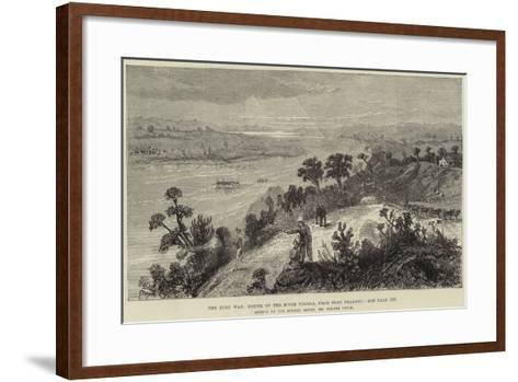 The Zulu War, Mouth of the River Tugela, from Fort Pearson-Melton Prior-Framed Art Print