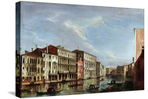 View of Venice-Michele Marieschi-Stretched Canvas Print