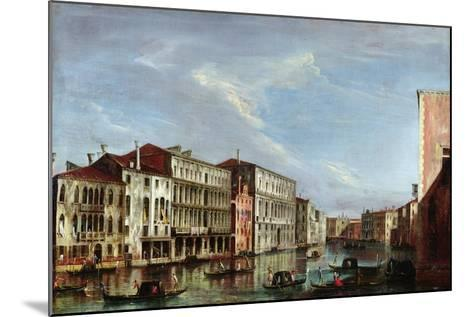 View of Venice-Michele Marieschi-Mounted Giclee Print