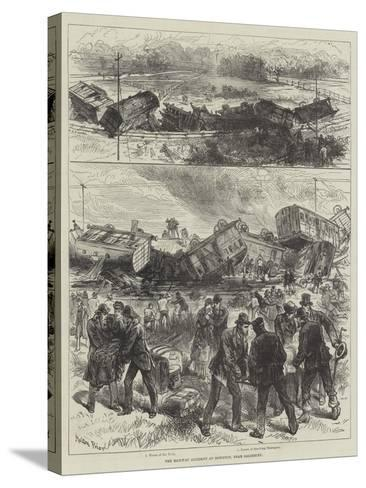 The Railway Accident at Downton, Near Salisbury-Melton Prior-Stretched Canvas Print