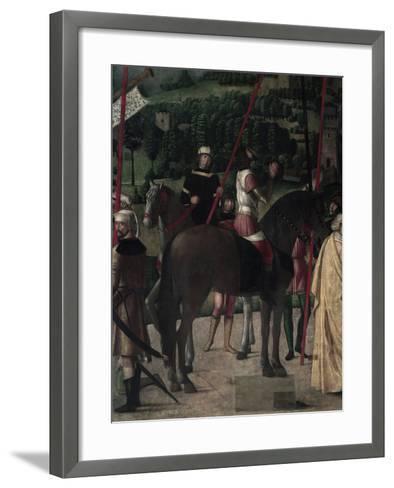 Soldier on Horseback-Michelle da Verona-Framed Art Print