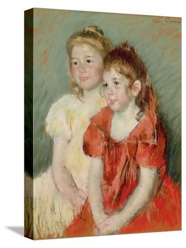 Young Girls, C.1900-Mary Cassatt-Stretched Canvas Print
